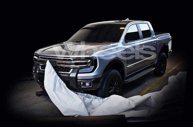 Pobegle fotografije Forda Rangerja 2021