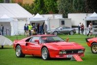 Londonski Concours z impresivno listo Ferrarijev
