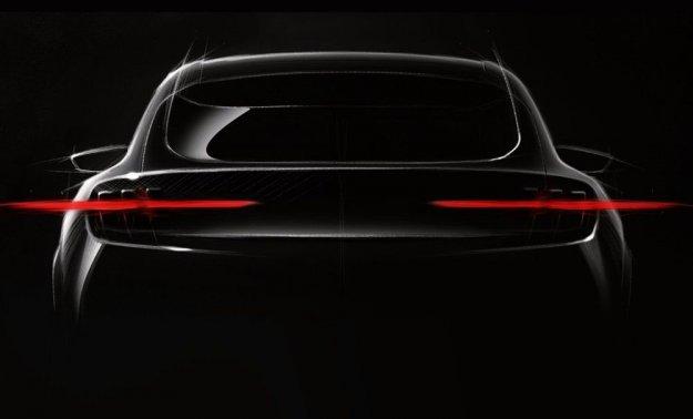 Ford malce bolj razkril »električarja« Mach 1 EV