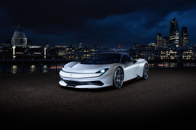Pininfarina Battista za čistejši London
