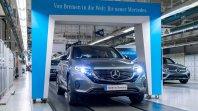 Začetek proizvodnje Mercedesa EQC