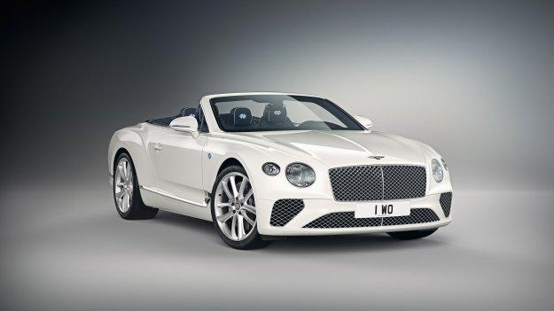 Bentley z bavarsko temo