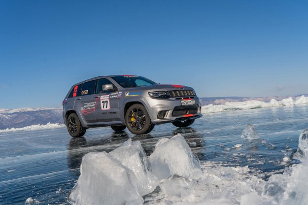 Grand Cherokee Trackhawk je najhitrejši SUV na ledu