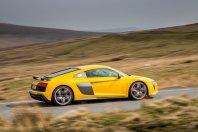Audi ohranja R8 z atmosferskim V10