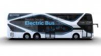 Hyundai z dvonadstropnim avtobusom
