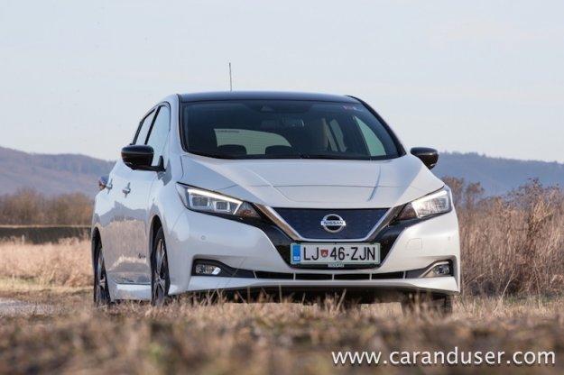 Nissan Leaf prejel pet zvezdic organizacije Green NCAP