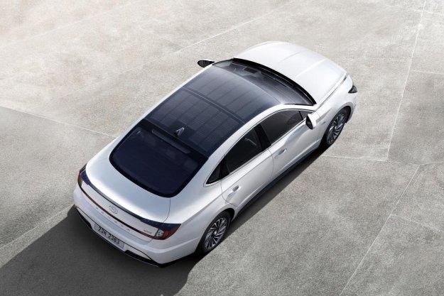 Prvi Hyundai s sončnimi celicami