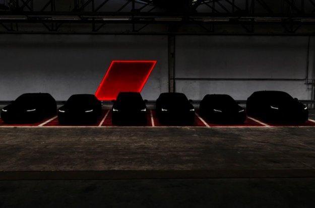 Šest novih Audijev RS