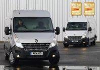 Renault Master z božično nagrado
