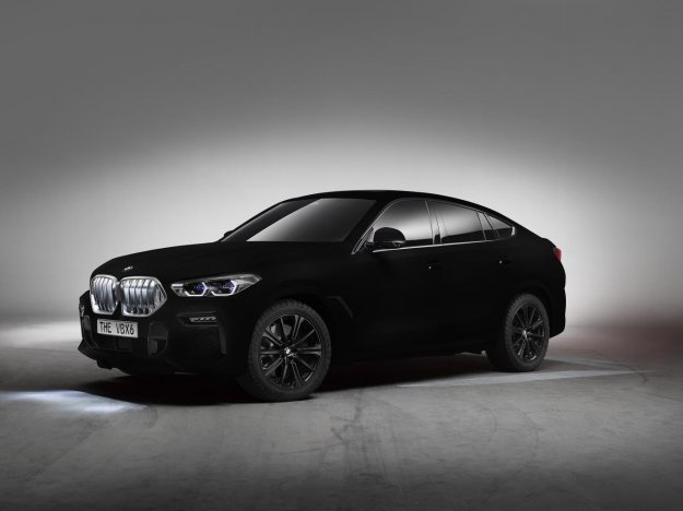 BMW X6 z najtemnejšo barvo