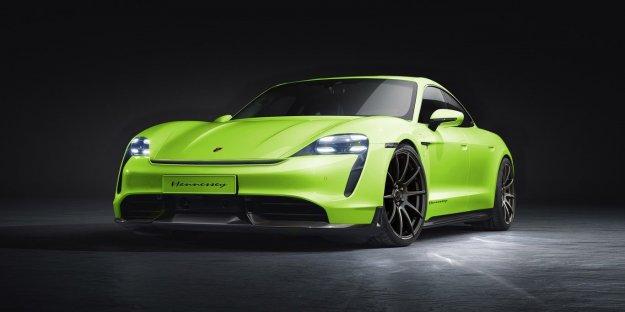 Hennessey bo navil električnega Porsche Taycana