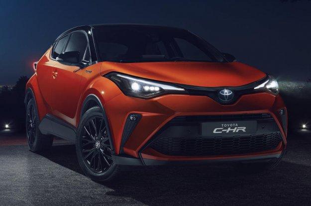 Osvežena Toyota C-HR z novim hibridnim motorjem