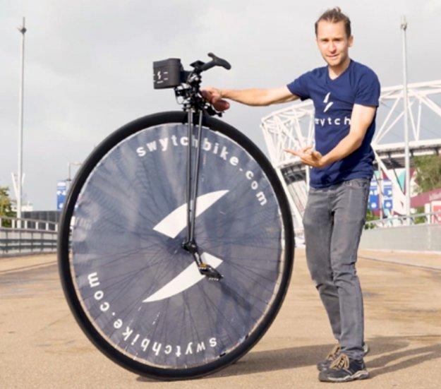 Najmanjši in najlažji paket za elektrificiranje koles