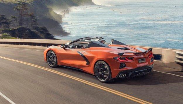 Corvette Stingray tudi zgoraj brez