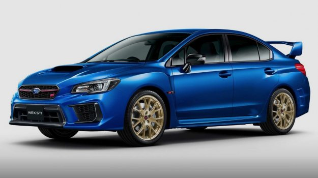 Zadnja izvedba aktualne generacije modro-zlatega WRC dirkalnika