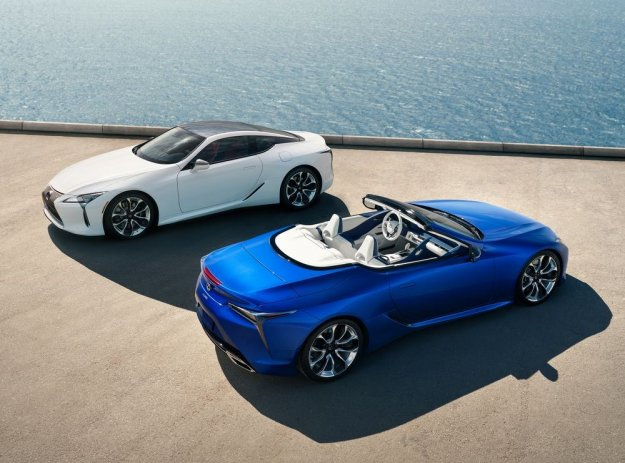 Novo: Lexus LC 500 Convertible