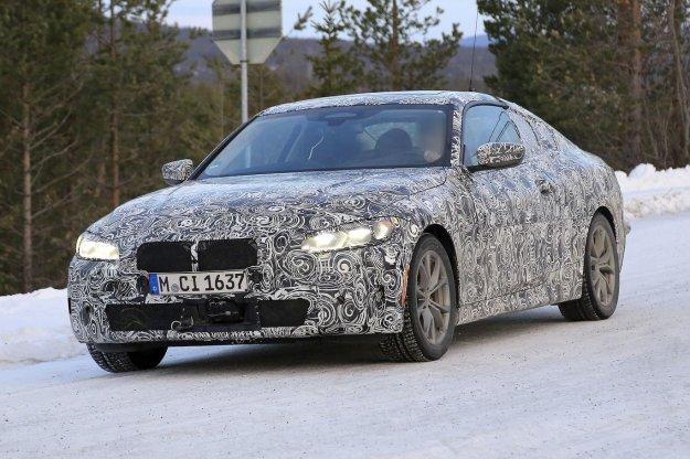 Ujeto: BMW serija 4 bo imela veliko hladilno režo