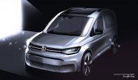 VW Caddy bo uradno razkrit naslednji mesec