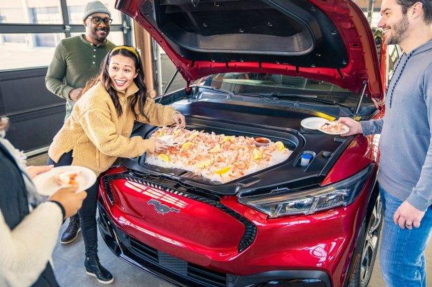 Ford Mach E kot mobilni hladilnik?
