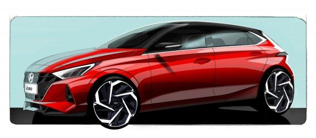 Hyundai draži z novo obliko modela i20