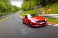Odličen čas BMW-ja M8 na Nordschleifu