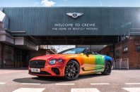 Bentley v podporo LGBTQ+