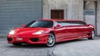 Podaljšani Ferrari 360 za 240 tisoč evrov