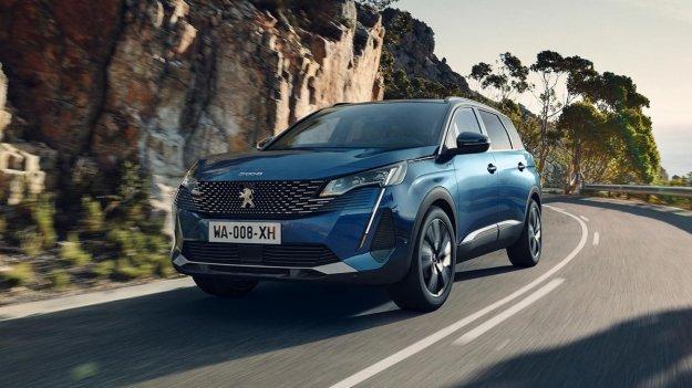 Prenova še za večjega Peugeota 5008