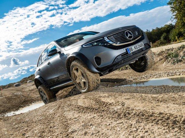 Mercedes z bahavim elektri?nim off road prototipom