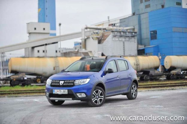 Dacia Sandero Stepway Proud 1.5 Blue dCi 95
