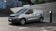 Popolnoma električni Peugeot Partner z 275 kilometri dometa