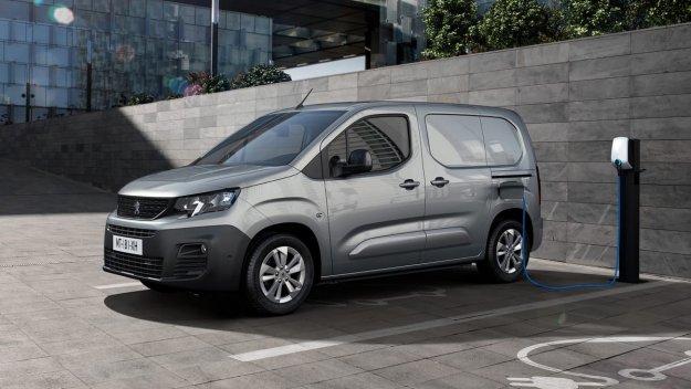 Popolnoma elektri?ni Peugeot Partner z 275 kilometri dometa