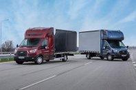 Ford predstavlja novo različico Transita v izvedbi šasija s kabino.