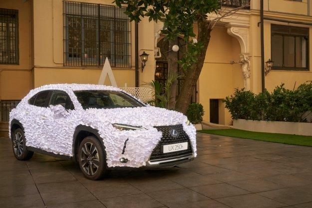 Lexus UX Zenovski vrt: Zmagovalec umetni�kega nate?aja