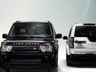 Črno-beli Land Rover