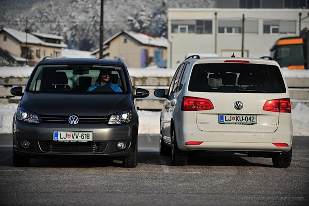 VW Touran Trendline 1.6 TDI vs VW Touran 1.4 TSI Highline