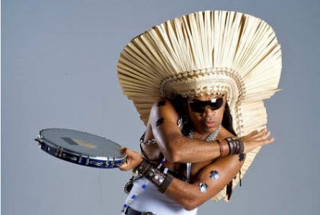 Carlinhos Brown v Sloveniji