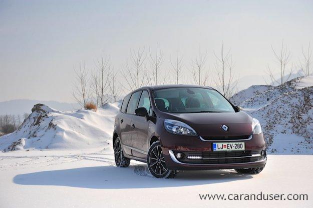 Prenovljena Renault Scenic in Grand Scenic (2012)