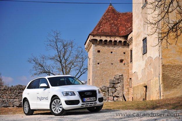 Novi Audi A1 Sportback in Audi Q5 hybrid quattro