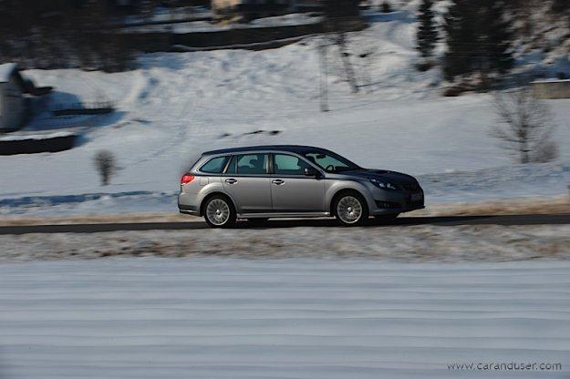 Subaru Legacy - žensko mnenje
