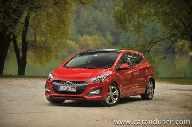 Hyundai i30 coupe 1.6 CVVT