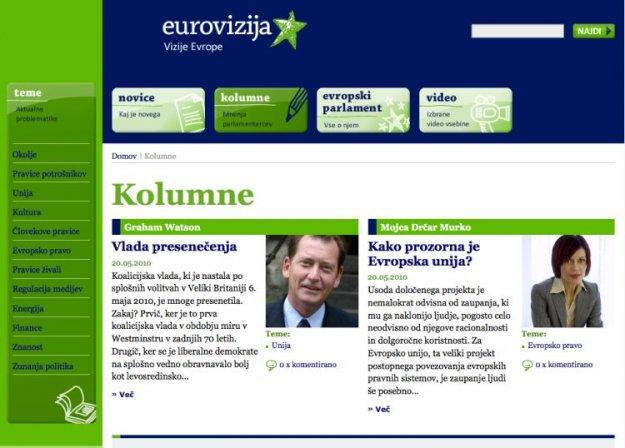 Eurovizija.si - Na?in spoznavanja delovanja Evropskega parlamenta