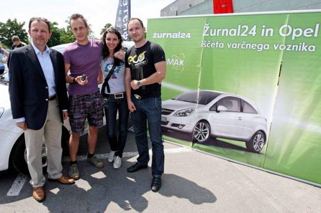 Z Opel Corso ecoFLEX poraba 2,8 litra goriva na ...