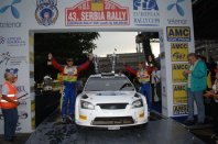 Prepričljiva zmaga WRC posadke na reliju v Srbiji