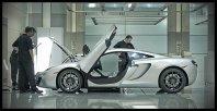 McLaren je razkril tančico skrivnosti